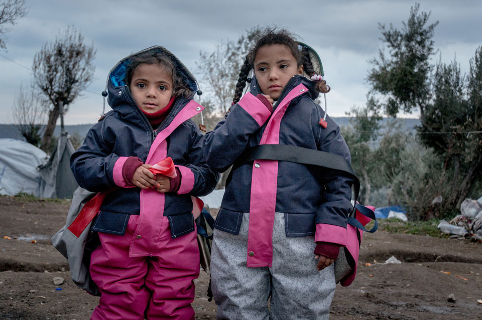 Children on Lesbos