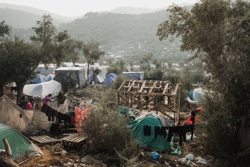 Refugee camp Moria | Sheltersuit