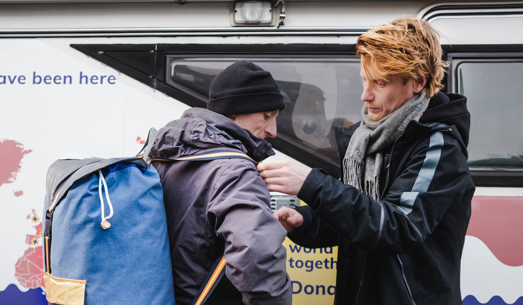 15 Sheltersuits handed out in Edinburgh