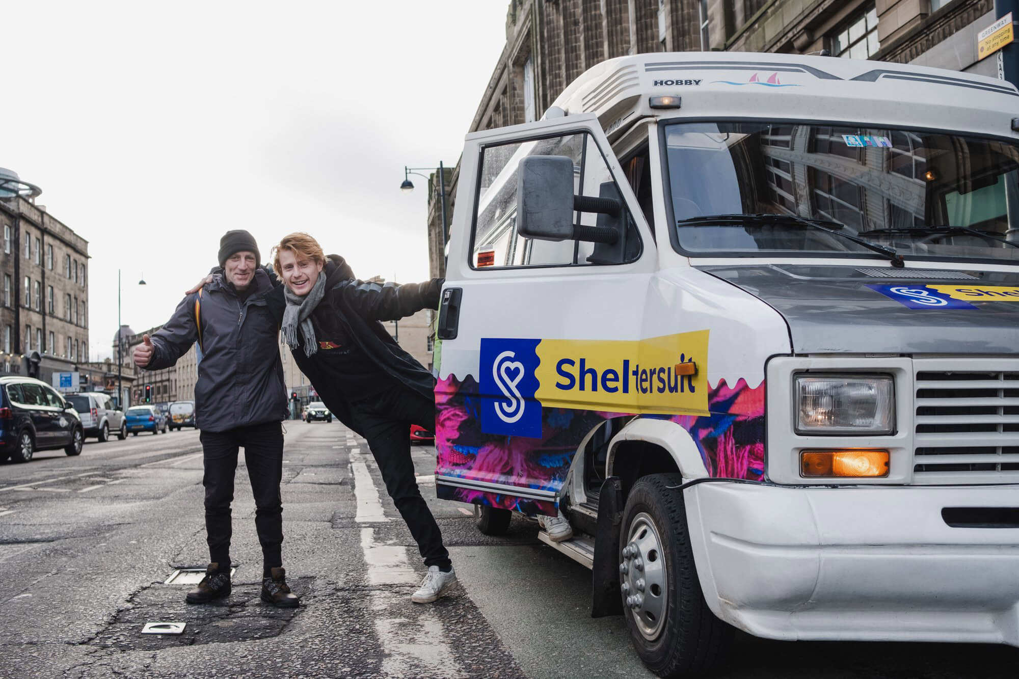 Groot-Brittannië tweede halte op Europese Sheltersuit Tour