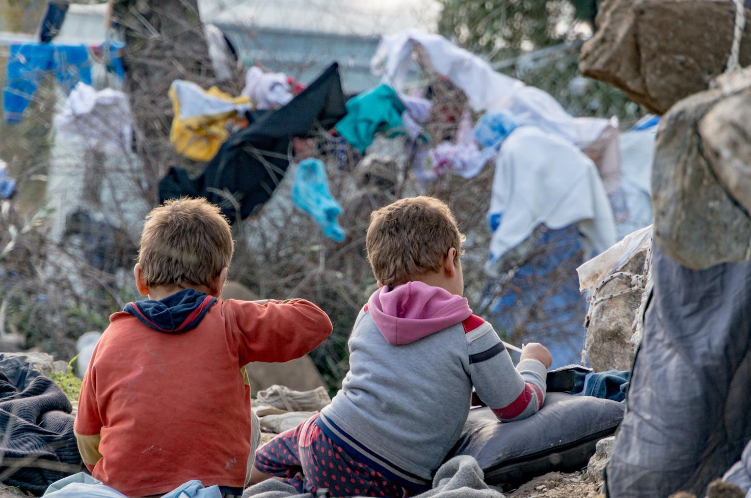 Weeskinderen op Lesbos 2017