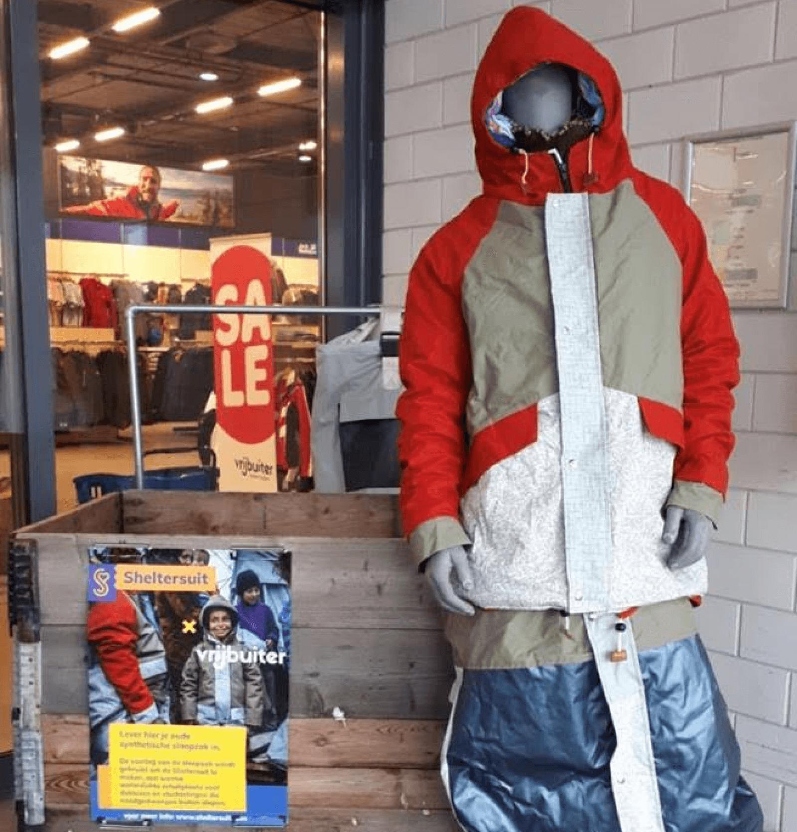 Vrijbuiter op avontuur met Sheltersuit
